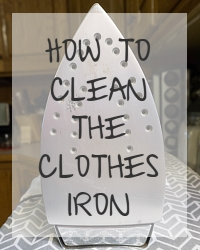 clean iron
